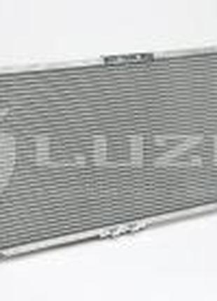 Радиатор охлаждения Ланос с конд (алюм-паяный) Luzar