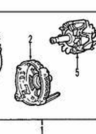 Якорь генератора Ланос (85А) GM Код: 28566-MD