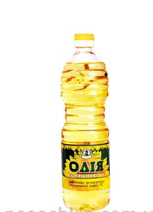 Подсолнечное масло 1л