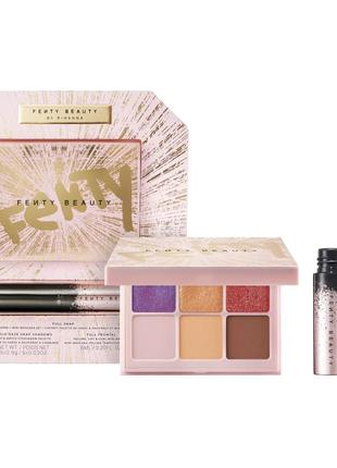 Набор fenty beauty by rihanna full snap eyeshadow palette mini...