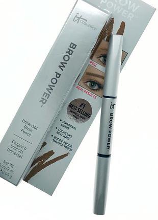 Карандаш для бровей it cosmetics - brow power мини