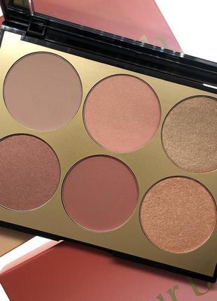 Палетка для лица sephora collection - contour blush