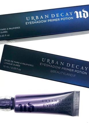 Основа под тени urban decay - eyeshadow primer potion