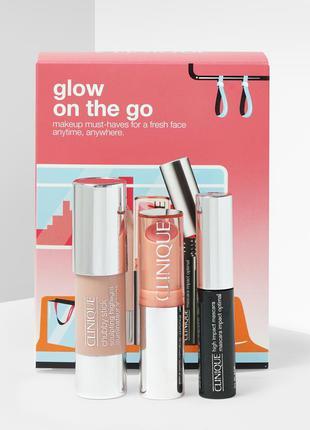 Набор косметики clinique - glow on the go