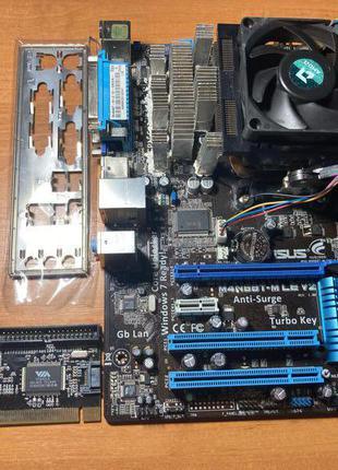Комплект AMD Phenom ii x6 1600t (unlock x4 960t), 8гб ddr3