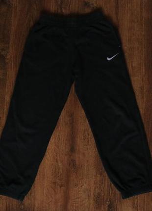 Детские спортивные штаны nike n45 brushed-fleece cuffed pant y...