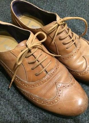 Clarks кожаные туфли броги оксфорды