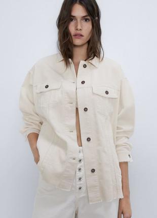 Куртка рубашечного кроя