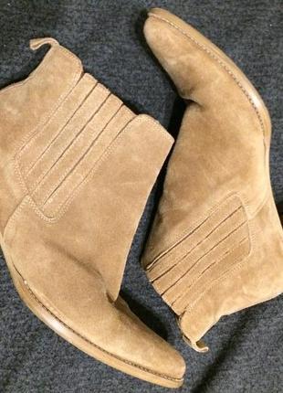 Essence замшевые кожаные ботильоны ботинки