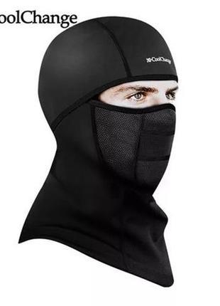 Флісова балаклава CoolChange вело мото лижна маска шарф бандана