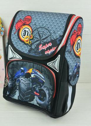 Рюкзак школьный, с ортопедической спинкой
