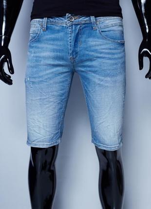 Шорты мужские джинсовые gs 8196 синие