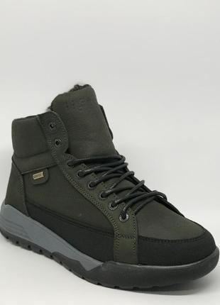 Ботинки мужские зимние cardio nm 204 зеленые