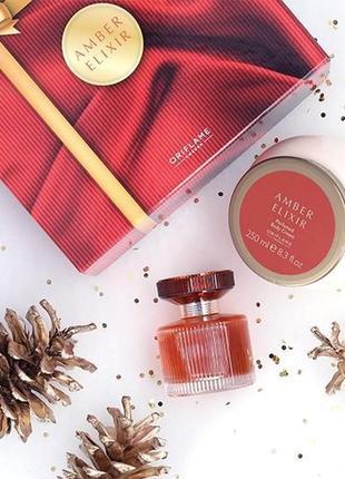 Подарочный набор amber elixir эмбе иликсе от орифлейм