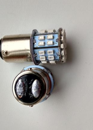 Лампочка светодиодная BAY15D 1157 50SMD 1206 T25