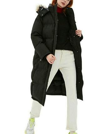Пальто,дутая парка ,пуховик,свободного кроя от calvin klein сш...