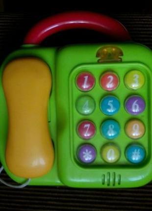 Развивающая музыкальная игрушка телефон/пианино