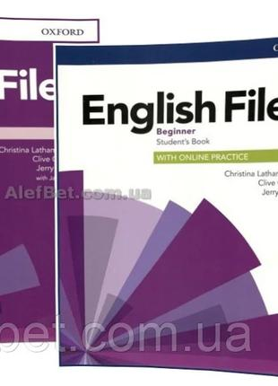 Английский язык / English File / Student's+Workbook. Учебник+Т...