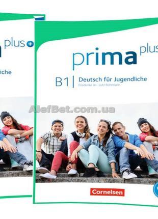 Немецкий язык / Prima plus / Schülerbuch+Arbeitsbuch+CD. Учебн...