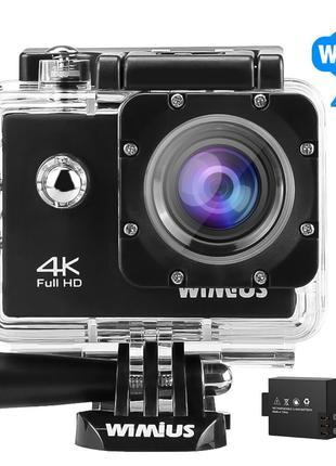 Водонепроницаемая экшн-камера WiMiUS 4K
