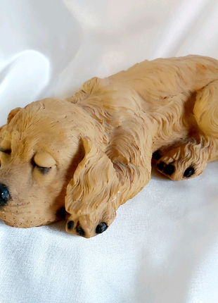 Статуэтка керамическая собака