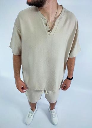 Мужской костюм оверсайз мужская одежда осень весна лето осень
