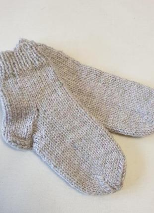 Детские вязаные носки, 15 см