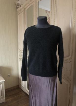 Пушистик! кашемировый пушистый джемпер пуловер, натуральный ка...