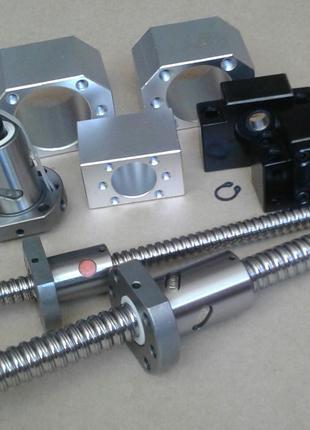 Шарико-винтовые передачи ШВП для станков c ЧПУ и 3D принтеров