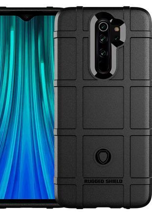 Противоударный чехол бампер Rugged Shield для Xiaomi Redmi Not...