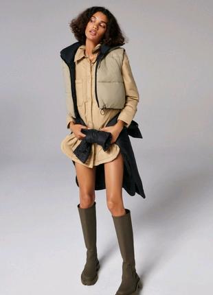 Куртка-рубашка от Zara.