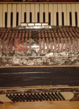аккордеон вельтмайстер 3\4 80 басов