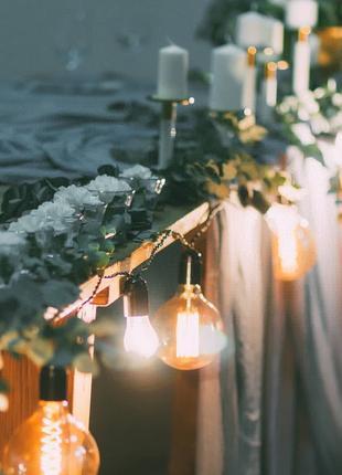 Марля цветная для декора свадьбы