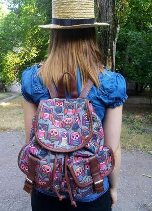 Рюкзак с совами