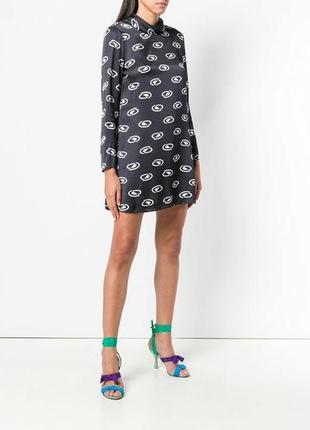 Новое оригинальное элитное платье оверсайз класса люкс rixo lo...