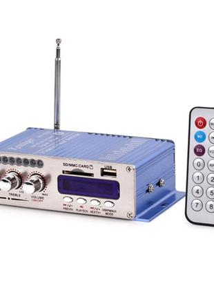 Hi-Fi усилитель в авто ВТВ HY-502, USB SD DVD CD FM MP3 плеер