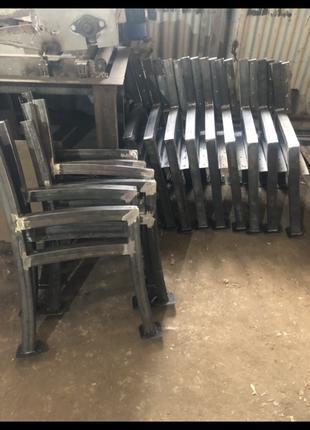 Опоры для скамеек из профильной трубы