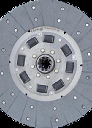 Диск ведомый главной муфты сцепления ЮМЗ-80 (пр-во ТАРА)