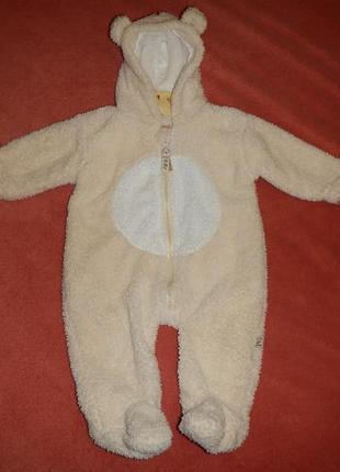 Человек baby р.3-6мес (62-68см) новый комбинезон