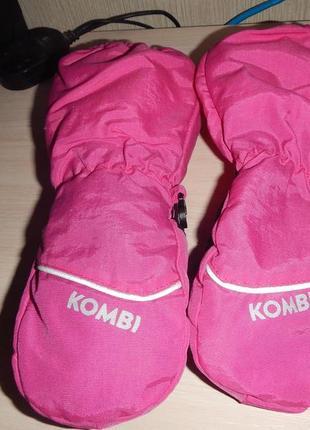 Рукавицы kombi р.м (4-5лет, 104-110см) краги варежки