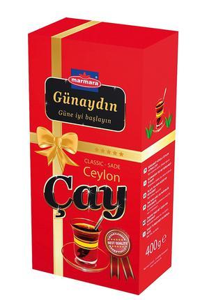 Чай черный Gunaydin Ceylon Cay 400г (крупнолистовой)
