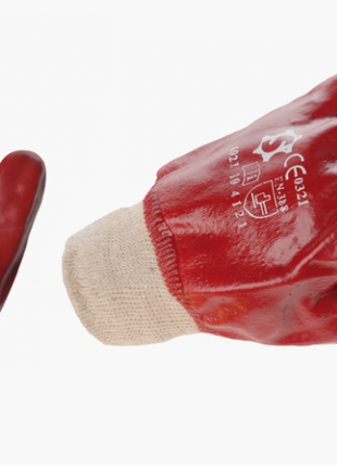 Перчатки рабочие с полным покрытием