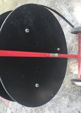 Інструмент для натягування і затиску скобами поліпропіленової стр
