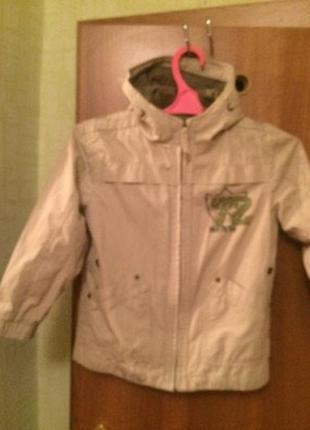 Куртка , внутри подстежка,  next.