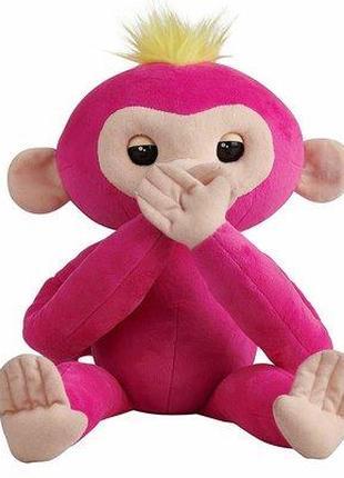 WowWee Интерактивная обезьянка-обнимашка Fingerlings HUGS Bella Б