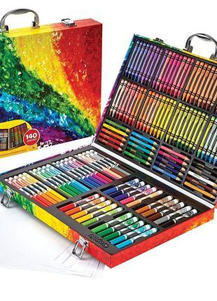 Набор для творчества крайола 140 предметов Crayola Inspiration Ar