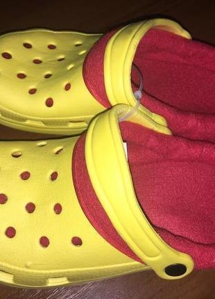 Детские кроксы утепленные.размер 34.pepperts.германия.