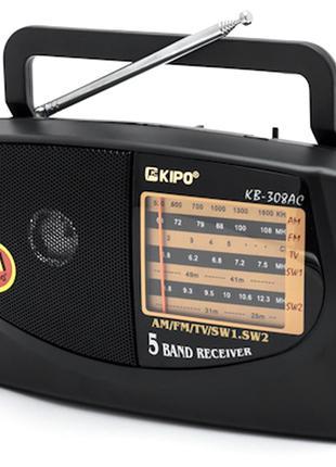 Радиоприемник KIPO KB-308+USB