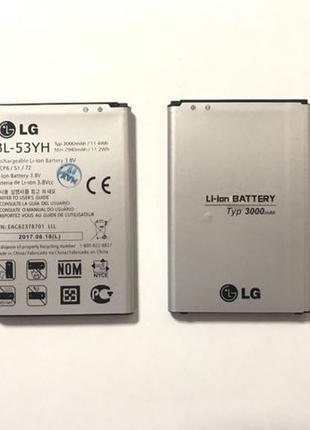 Аккумулятор Батарея АКБ LG D855 G3 BL-53YH 3000 mAh D855 F400 ...