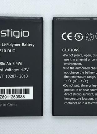 Батарея Акумулятор АКБ Prestigio MultiPhone 3510 Wize G3